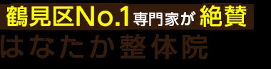今福鶴見の整体なら「はなたか整骨院」 ロゴ